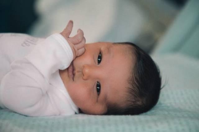 Baby in Beeld