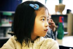Meisje basisschoolleeftijd