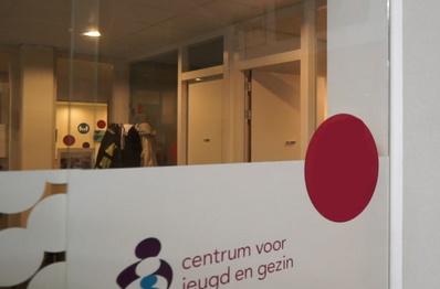 Inlooppunt met het logo van het CJG