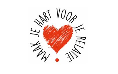 Logo: Campagne 'Maak je hart voor je relatie'