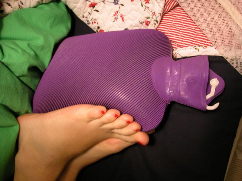 Afbeeldingsresultaat voor koude voeten in bed