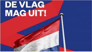 Hang de vlag uit op Bevrijdingsdag van uw dorp.