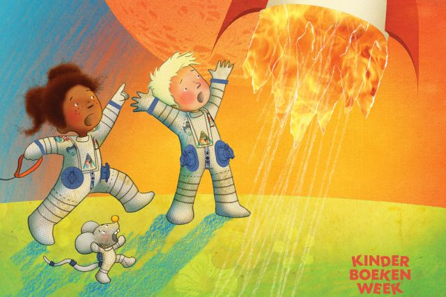 Omslag van het prentenboek van de Kinderboekenweek