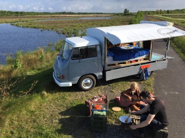 Bijzonder kamperen in Mantinge