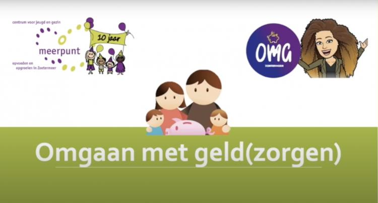 titelscherm bij video ouders en omgaan met geld