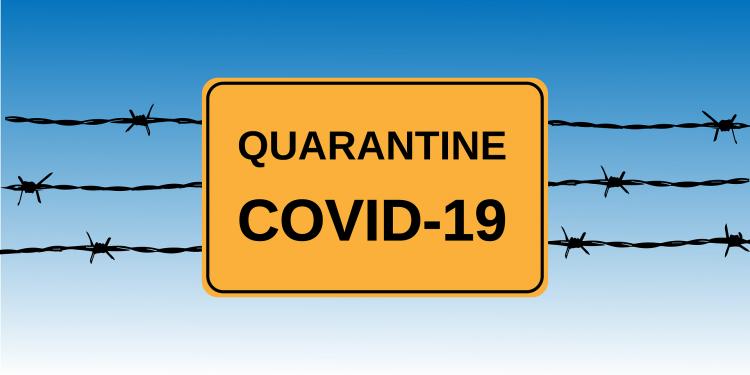 afbeelding covid19 - quarantaine