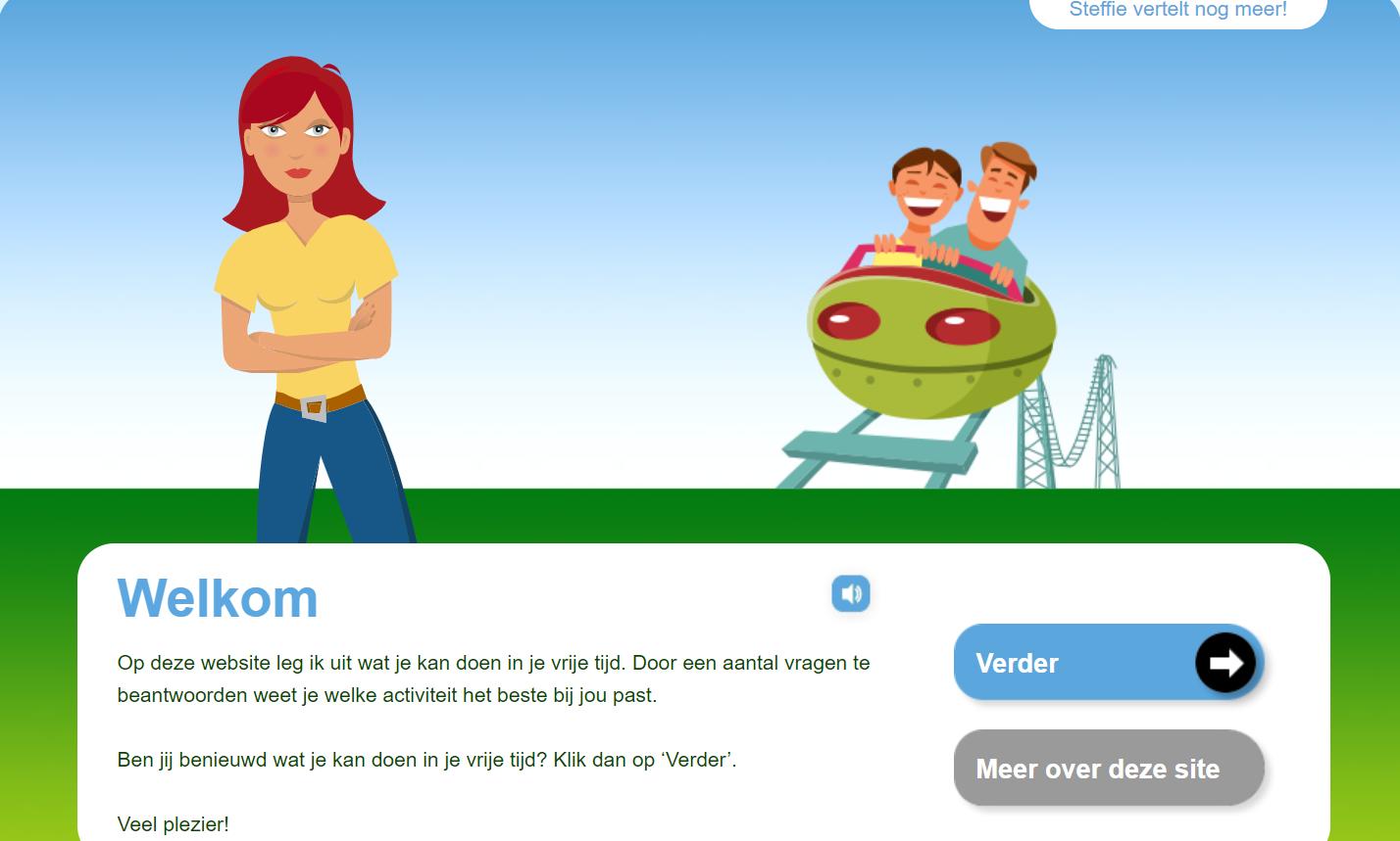 Ga naar de website inmijnvrijetijd.nl