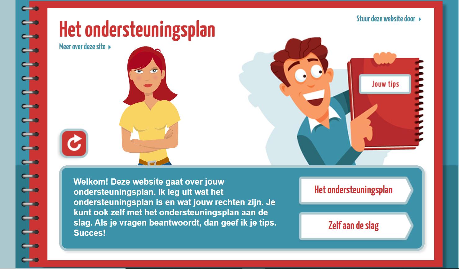 Ga naar Mijnondersteuningsplan.nl
