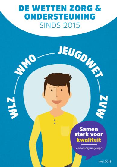 Open de brochure 'Wetten zorg en ondersteuning - eenvoudig uitgelegd'